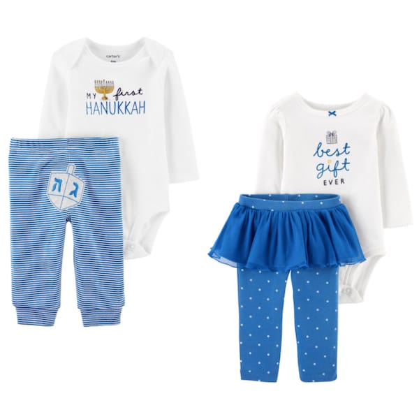 Baby Hanukkah PJs