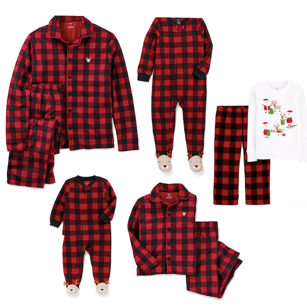 Buffalo Check Family Holiday PJs