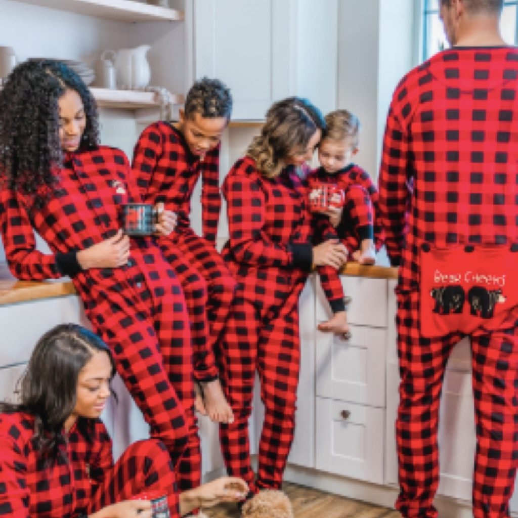 Buffalo Plaid Family Onesies