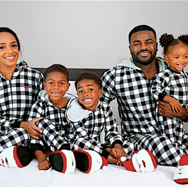 Family Matching Buffalo Plaid Hooded Onesies