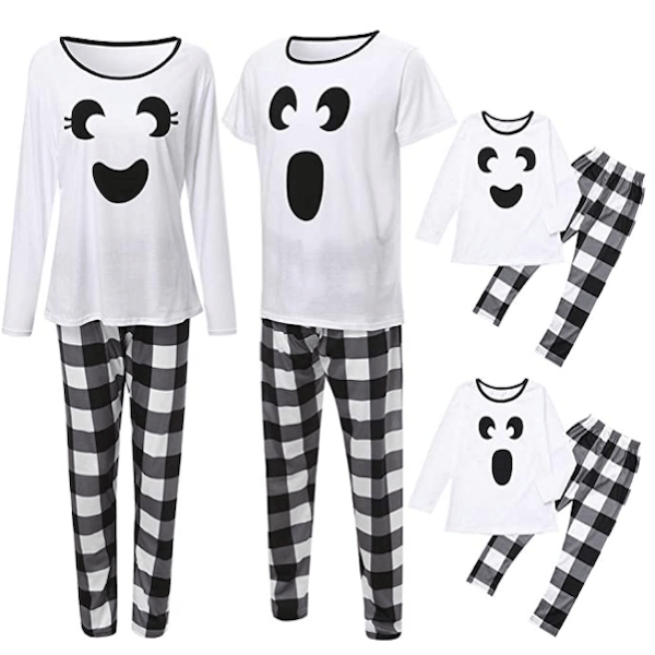 Cute Family Ghost Halloween PJs