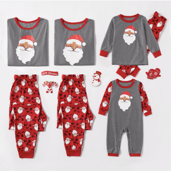 Cheap Santa Family PJs