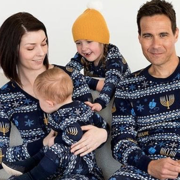 Family Hanukkah Organic Cotton PJs