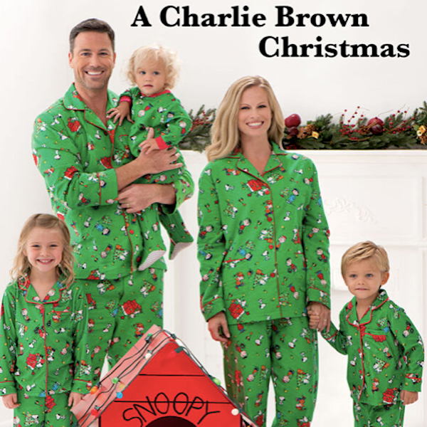Charlie Brown Family Holiday PJs
