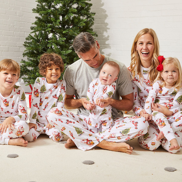 Family Matching Classic Holiday PJs