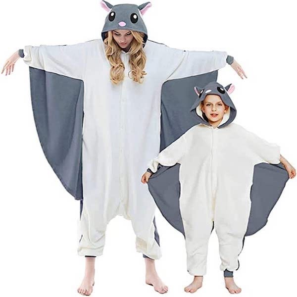 Flying Squirrel Family Halloween Onesies