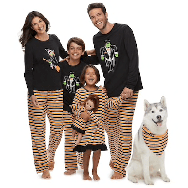 Monster Family Halloween  PJs
