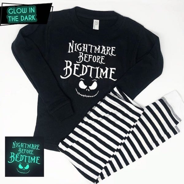 Nightmare Before Bedtime Kids PJs