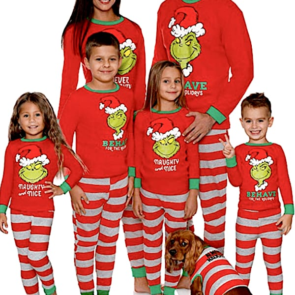 Grinch Family Holiday PJs