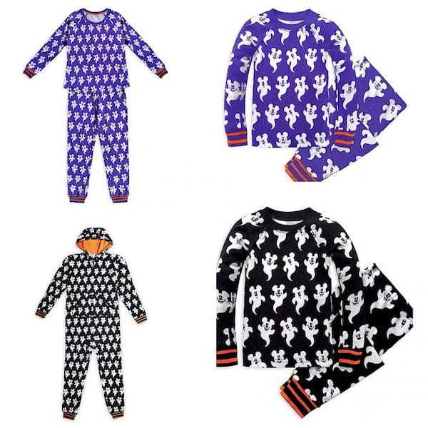 Mickey Mouse Family Halloween PJs