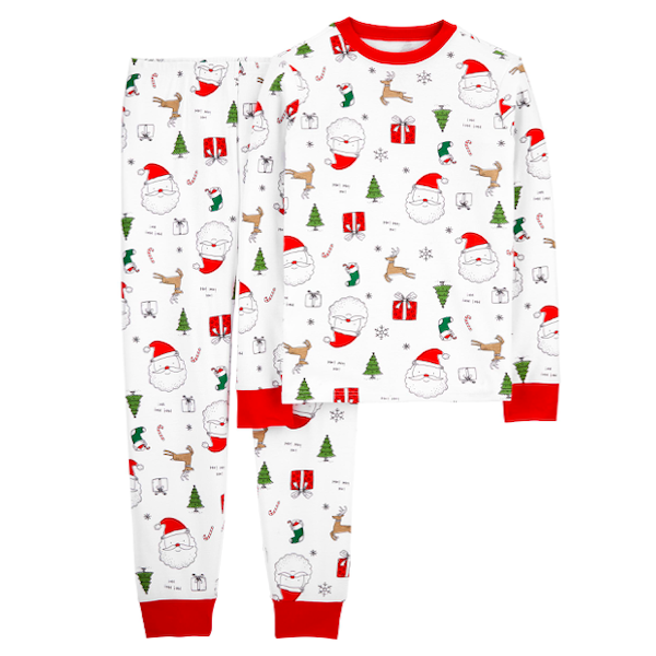 Family Christmas Santa PJs