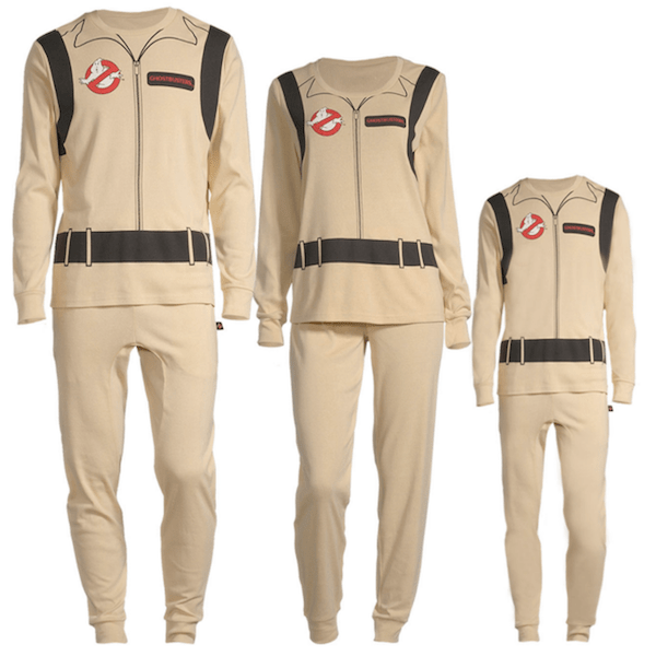 Ghostbusters Family Matching Halloween Costume PJs
