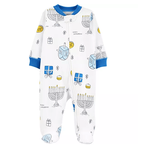 Hanukkah Cotton Onesie
