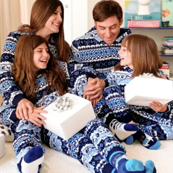 Hanukkah Fair Isle Family PJs Collection