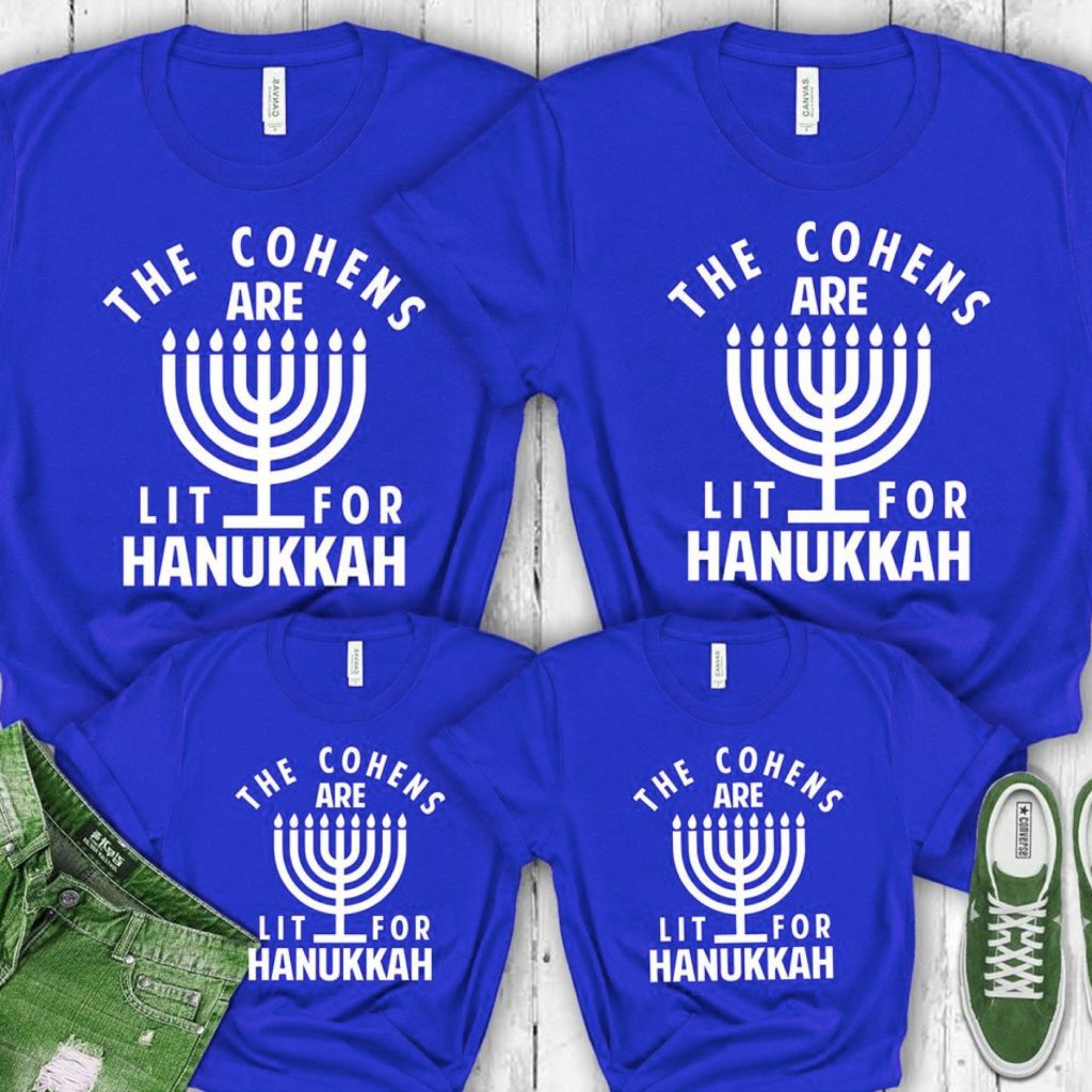 Hanukkah Family Shirts