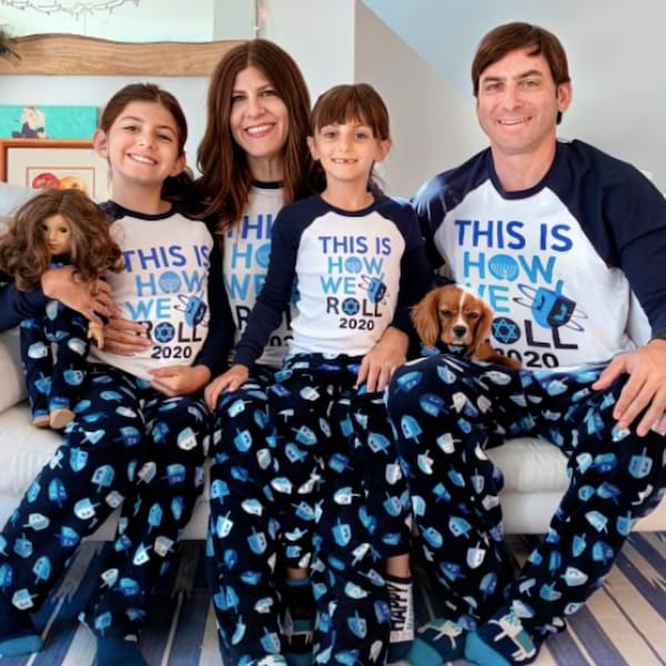 This is How We Roll Hanukkah Family PJs