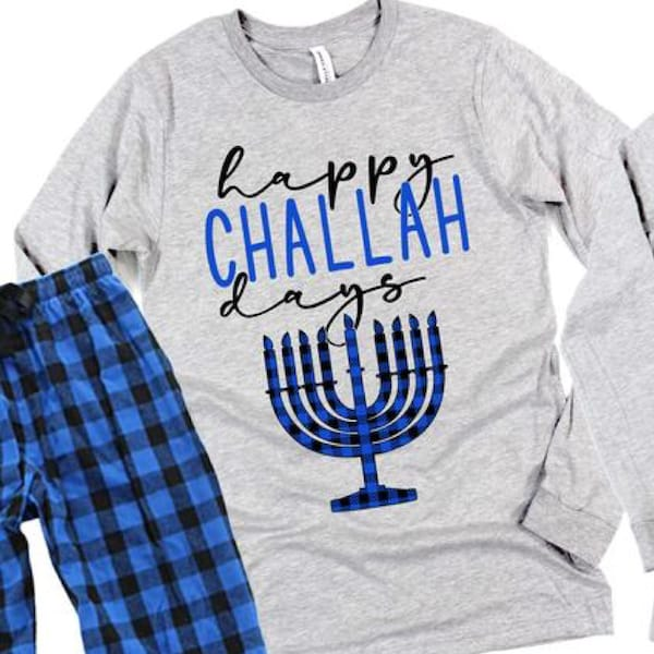 Happy Challah Chanukah PJs