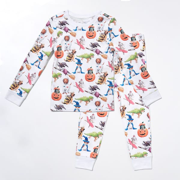 Halloween Dogs Family PJs