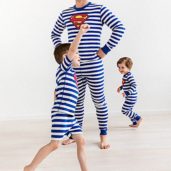 Superman Organic Cotton Family PJs