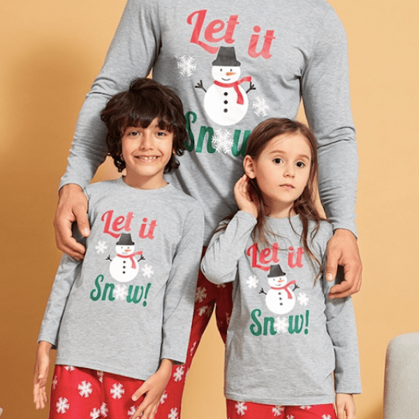 Let it Snow Family Holiday PJs