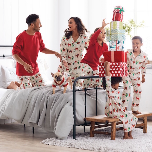 Llama Holiday Flannel Pajamas