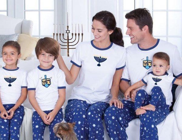 Family Hanukkah PJs