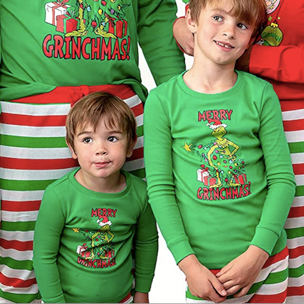 Merry Grinch-mas Family Holiday PJs