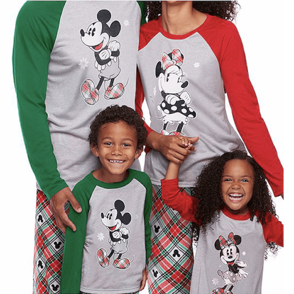 Mickey & Minnie Mouse Holiday PJs