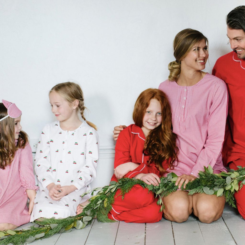 Mix + Match Red Family Holiday PJs