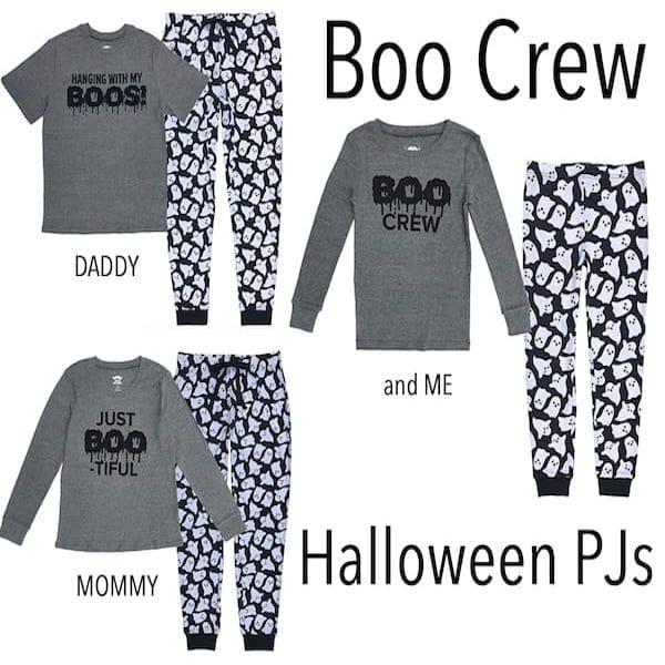 Boo Crew Family Halloween PJs