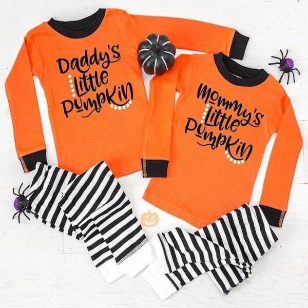 Mommy & Daddy's Little Pumpkin PJs