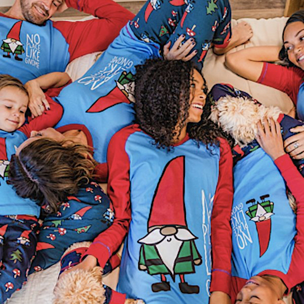 No Place Like Gnome Family Holiday  PJs