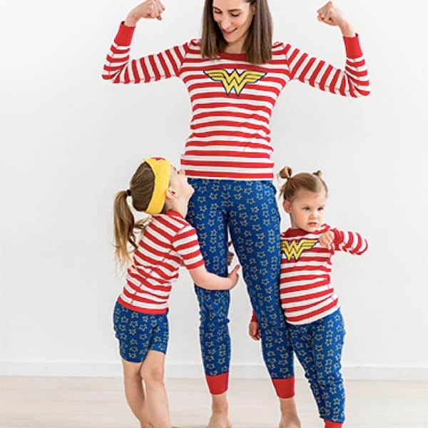 Wonder Woman Organic Cotton Family PJs