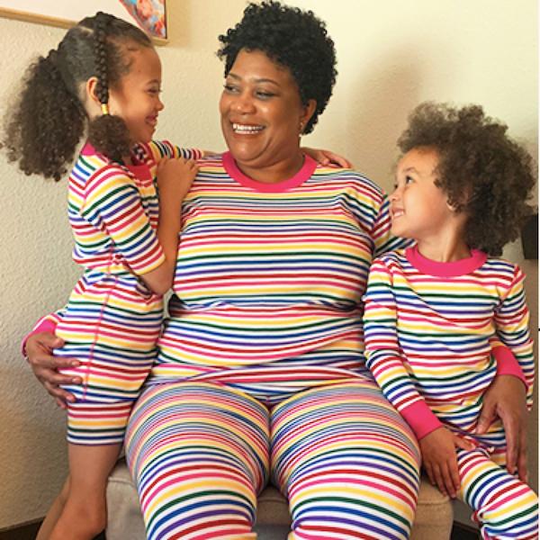 Classic Multi-Color Stripe PJs