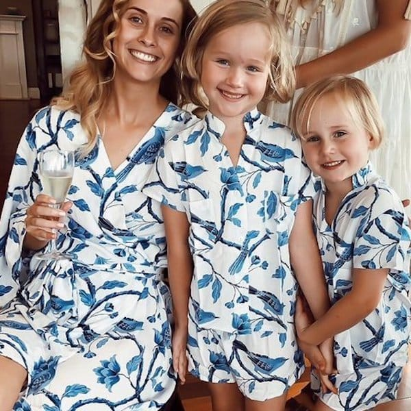 Mother Daughter Matching Short PJs