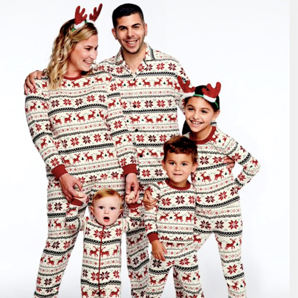 Reindeer Fair Isle Family Holiday PJs