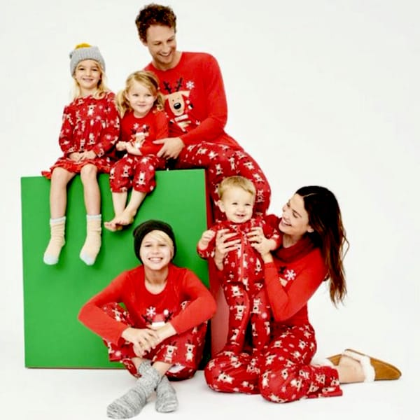 Reindeer Games Family Holiday PJs