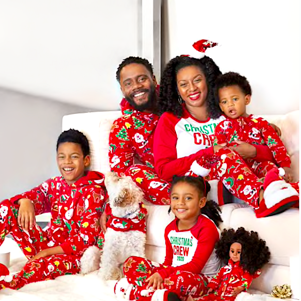 Christmas Crew 2020 Family Pajamas