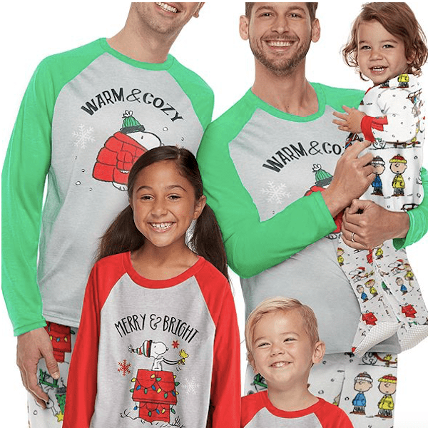 Snoopy Family Holiday PJs Collection