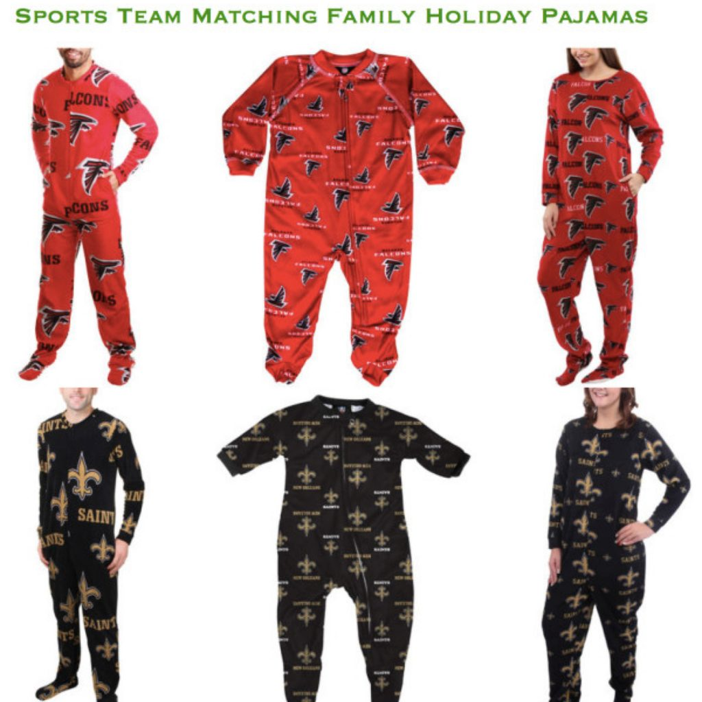 Sports Team Family Footed Onesies