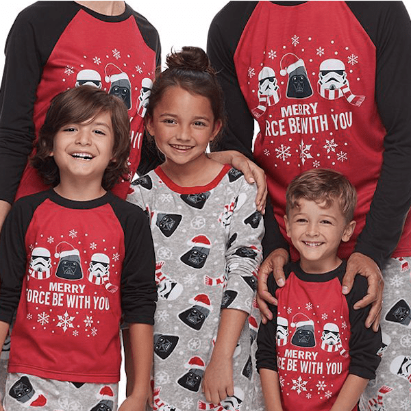 Star Wars Jammies For Your Families