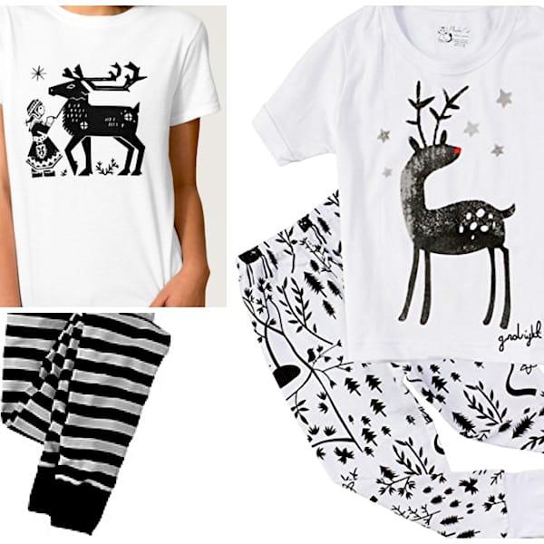 Reindeer Holiday Family Pajamas