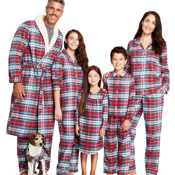 Winter Flannel Family Holiday PJs